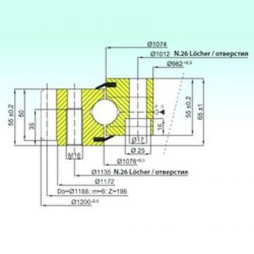 ISB EB1.25.1076.201-1STPN ISB Bearing