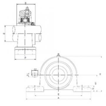 ISO UKP217 ISO Bearing