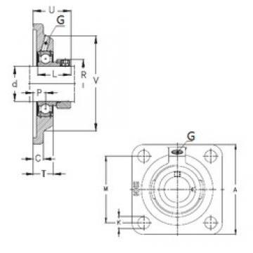 NKE PCF50 NKE Bearing