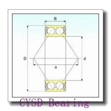 45 mm x 85 mm x 19 mm  45 mm x 85 mm x 19 mm  CYSD 7209BDT CYSD Bearing