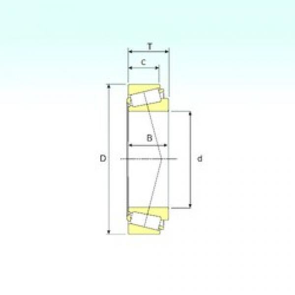 34,925 mm x 65,088 mm x 14,605 mm  34,925 mm x 65,088 mm x 14,605 mm  ISB LM48548/510 ISB Bearing #3 image