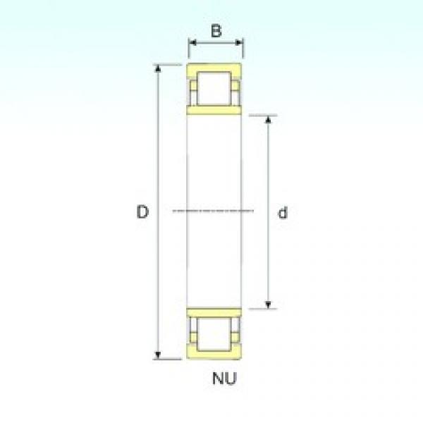 90 mm x 160 mm x 40 mm  90 mm x 160 mm x 40 mm  ISB NU 2218 ISB Bearing #3 image