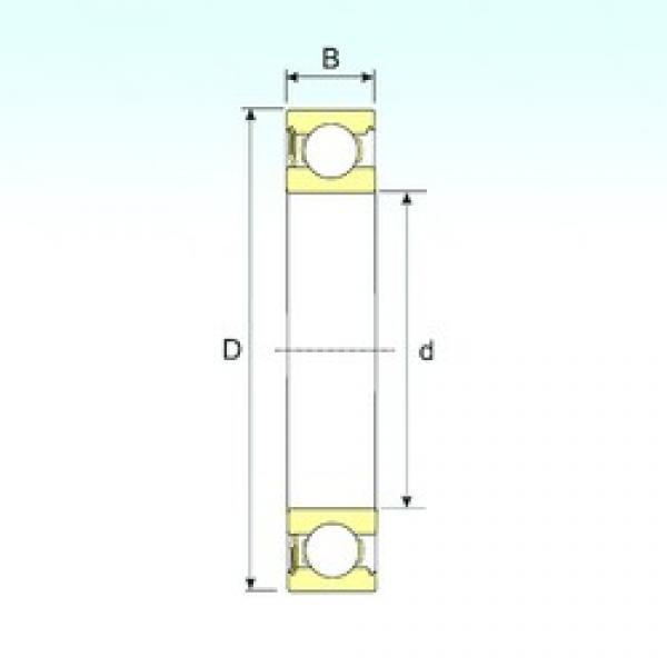 130 mm x 200 mm x 33 mm  130 mm x 200 mm x 33 mm  ISB 6026-RS ISB Bearing #3 image