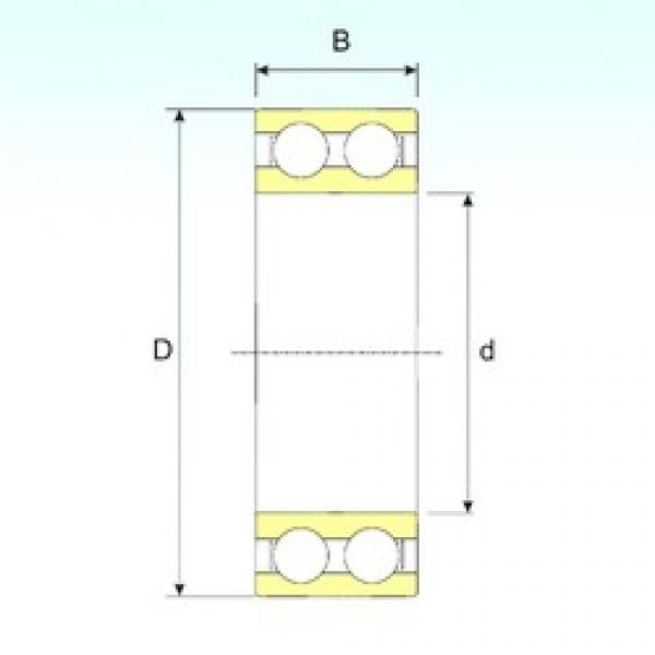 55 mm x 100 mm x 25 mm  55 mm x 100 mm x 25 mm  ISB 4211 ATN9 ISB Bearing #3 image