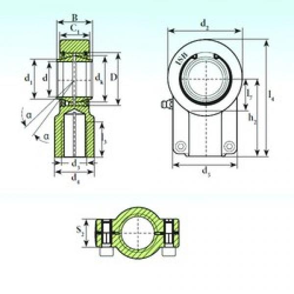 50 mm x 75 mm x 50 mm  50 mm x 75 mm x 50 mm  ISB TAPR 650 CE ISB Bearing #3 image
