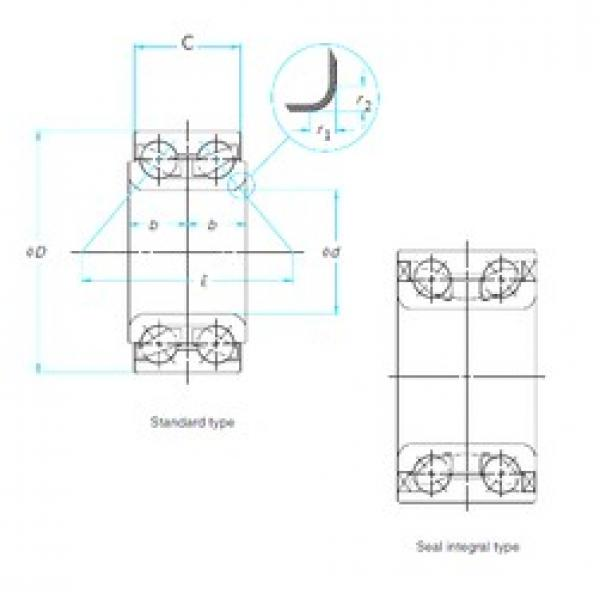 42 mm x 82 mm x 37 mm  42 mm x 82 mm x 37 mm  FAG FW9242 FAG Bearing #1 image