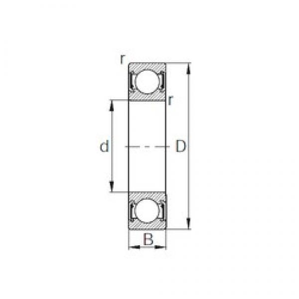 200 mm x 280 mm x 38 mm  200 mm x 280 mm x 38 mm  CYSD 6940-2RZ CYSD Bearing #3 image