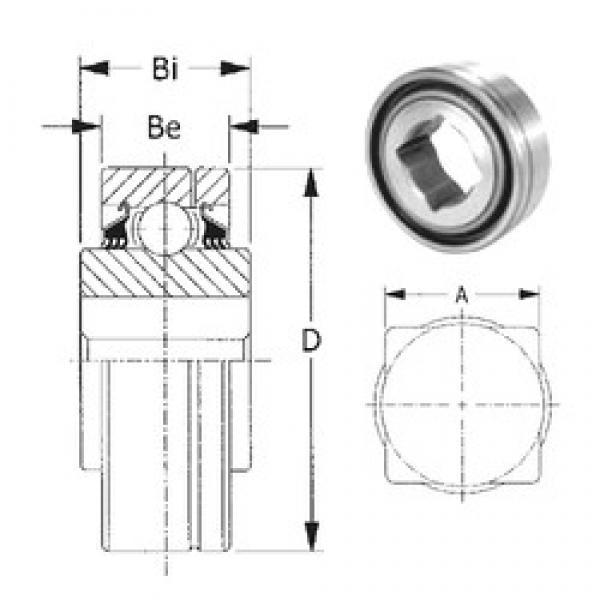 57,15 mm x 140 mm x 63,5 mm  57,15 mm x 140 mm x 63,5 mm  CYSD GW216PP2 CYSD Bearing #3 image
