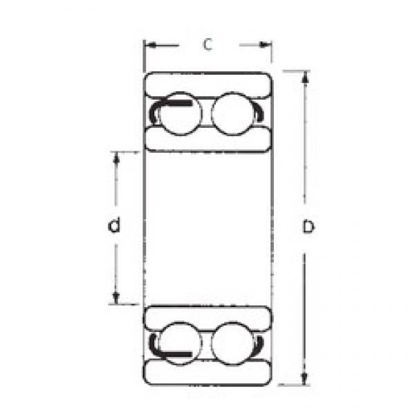 35 mm x 80 mm x 31 mm  35 mm x 80 mm x 31 mm  FBJ 4307ZZ FBJ Bearing #3 image