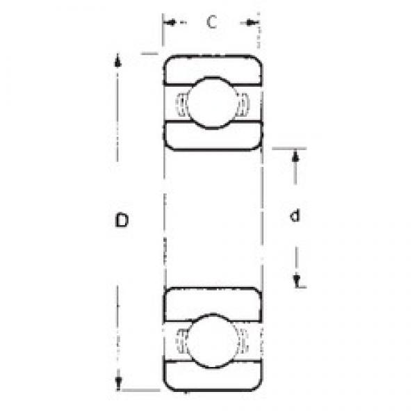 45 mm x 75 mm x 10 mm  45 mm x 75 mm x 10 mm  FBJ 16009 FBJ Bearing #3 image