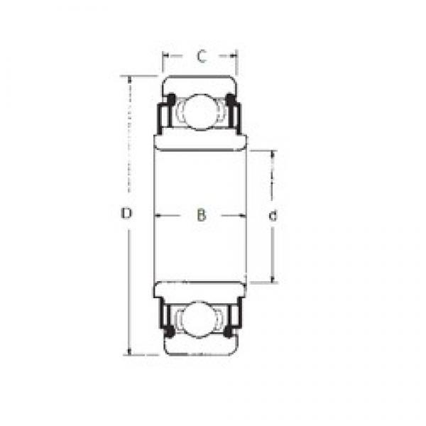 17 mm x 40 mm x 12 mm  17 mm x 40 mm x 12 mm  FBJ 88503 FBJ Bearing #3 image